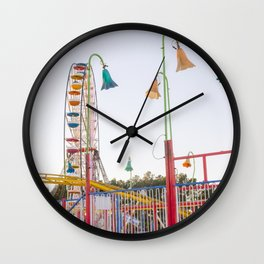 Ferris Wheel 3 Wall Clock