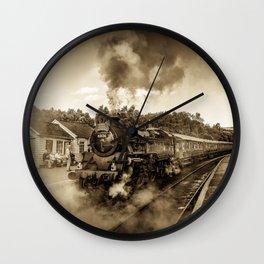 Nostalgic Journey Wall Clock