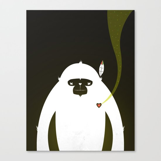 PERFECT SCENT - BIGFOOT 雪人 . EP001 Canvas Print