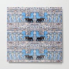 Egyptian Pattern VI Metal Print