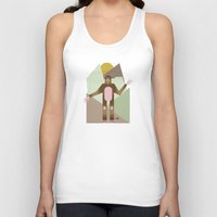 bigfoot Tank Tops featuring Finding Bigfoot by Juan Carlos Campos