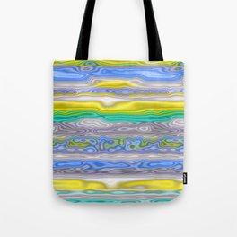 Topography Stripe 3 Tote Bag