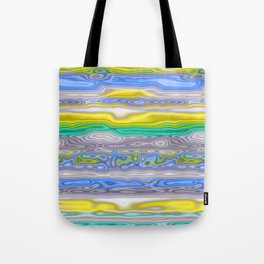 Topography Stripe 3 Tote Bag