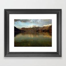 Kotor Bay Framed Art Print