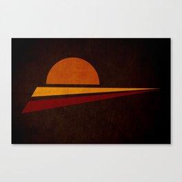 spicchi di sole Canvas Print