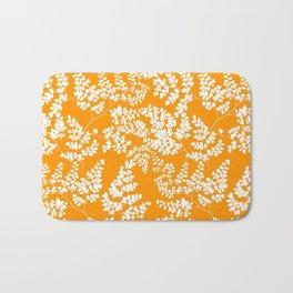 Spring Orange Bath Mat