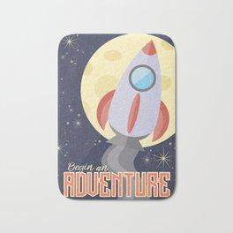 Space Adventure Bath Mat