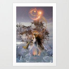 Winter Solstice Art Print