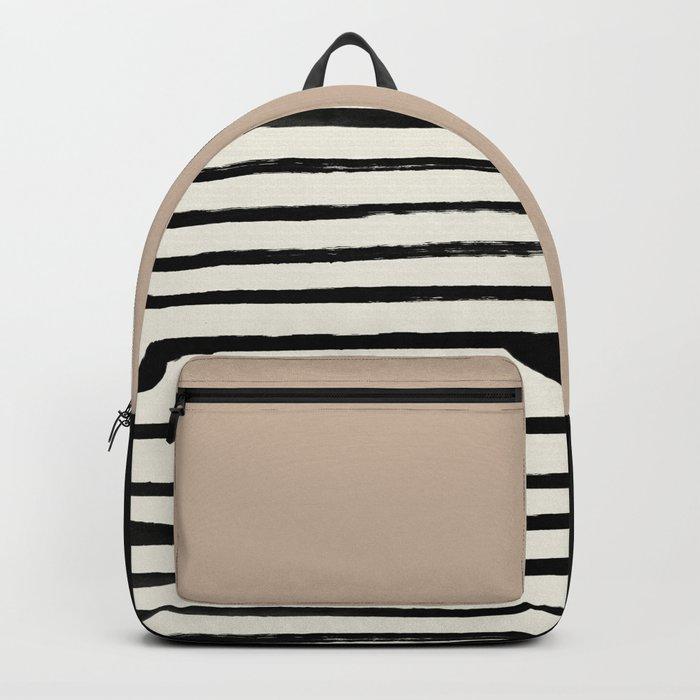 Latte & Stripes Backpack