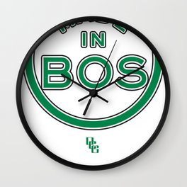Made in Boston - CELTICS Wall Clock