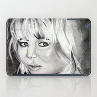 jennifer lawrence iPad Cases featuring Jennifer Lawrence by Papa-Paparazzi