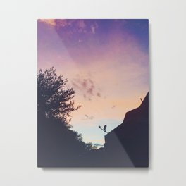 Ombré Sunset Metal Print