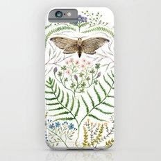 Moth with Plants II iPhone 6s Slim Case