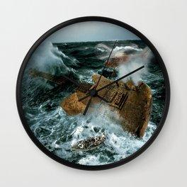 Guitarwreck Wall Clock
