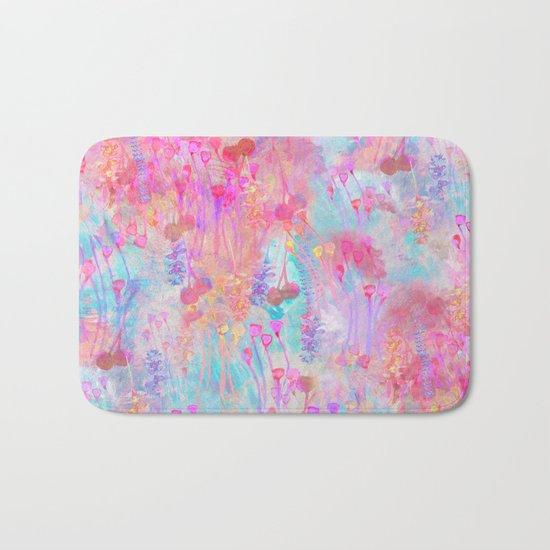 Floral Blush Bath Mat