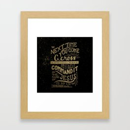 Goliath Framed Art Print