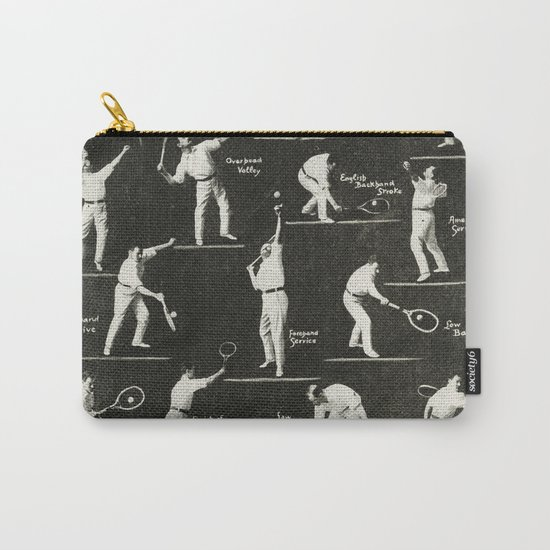 gentlemen prefer tennis Carry-All Pouch