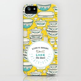 Florence's Retro Vintage Kitchen iPhone Case