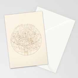Visible Heavens - Gold Stationery Cards