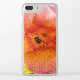 Tecoma wasp Clear iPhone Case