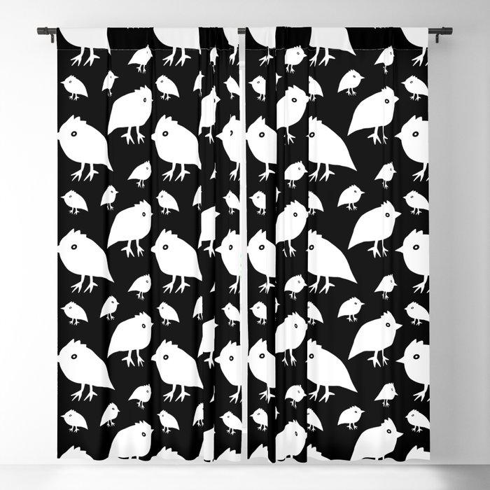 Sweet Little Birds Blackout Curtain