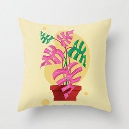 Plant Love Throw Pillow