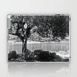 tree by the lake Laptop & iPad Skin