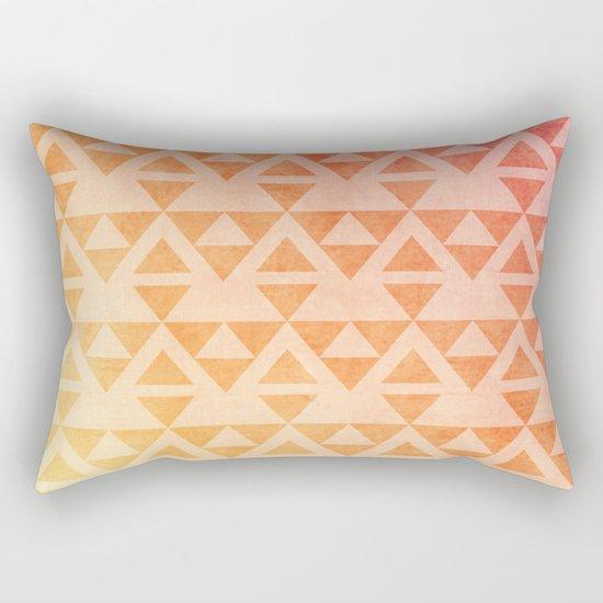 Aztec Pattern 11 Rectangular Pillow