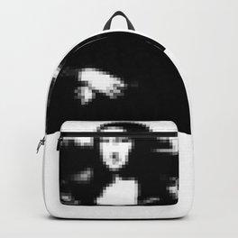 Mona Lisa pixel Backpack