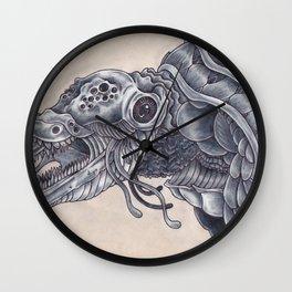 Deep Sea Creature Wall Clock
