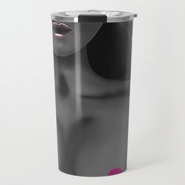 Pink Velvet Travel Mug
