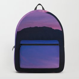 Winter Sunset with Mountains - Landscape Photography Backpack