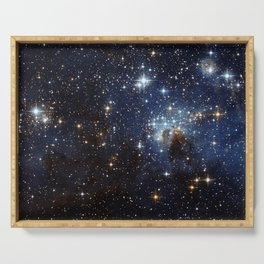LH 95 in the Large Magellanic Cloud Serving Tray