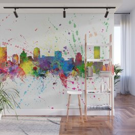 Nashville Tennessee Skyline Wall Mural