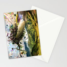 Fleeing Creativity (surreal) Stationery Cards