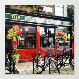 English Pub Life Canvas Print