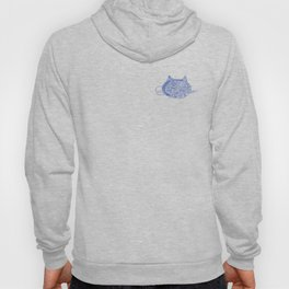 MechaniCat - small blue print Hoody