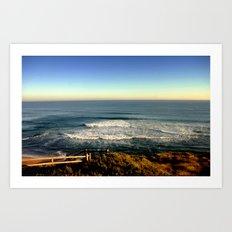 Seacsape Vista of the Great Southern Ocean Art Print