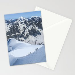 Swiss Alps Mountain Summit Stationery Cards
