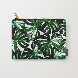 Monstera Jungle Leaf Carry-All Pouch