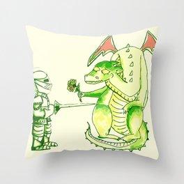 Good v.s. Evil? Throw Pillow