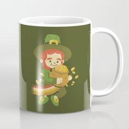 St Patrick Fun Beer Joke Coffee Mug
