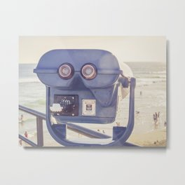I See Huntington Beach 1 Metal Print