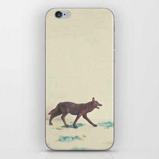 Wandering Wolf iPhone & iPod Skin