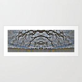 Treeflection VII Art Print