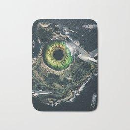 Eye of the sea monster by GEN Z Bath Mat