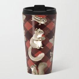 Squirreling Metal Travel Mug