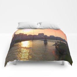 Nashville Dusk Comforters