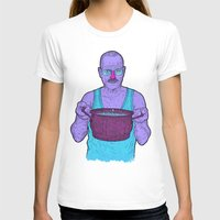cook T-shirts featuring Cook (fiolet) by Lime