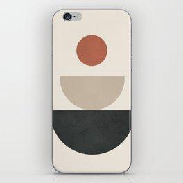 Geometric Modern Art 30 iPhone Skin